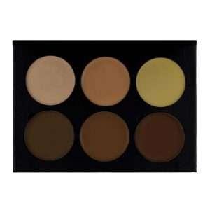 contour-cream-dark-brown-6-colors-ktb-cosmetics-top-open