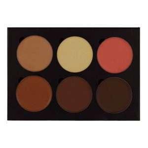 contour-cream-medium-brown-6-colors-ktb-cosmetics-top-open